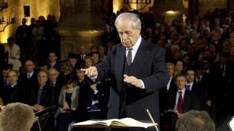 Pierre Boulez e Maria João Pires em concerto