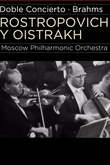 Rostropóvich e Oïstrakh interpretam Brahms