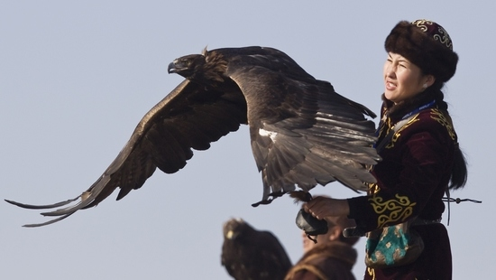 A Caçadora e a Águia